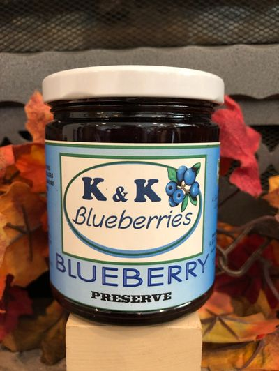 Blueberry Preserve Jar