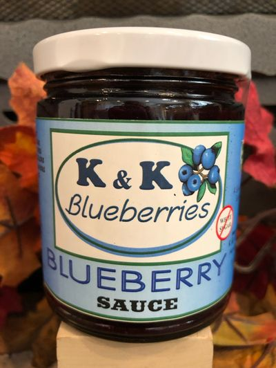 Blueberry Sauce Jar